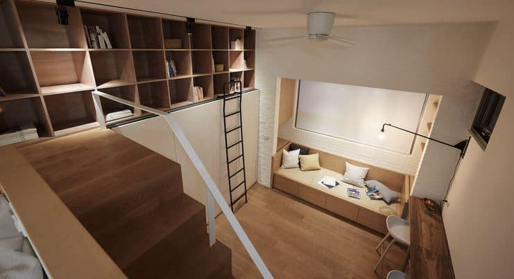Design Tiny Apartemen oleh A Little Design