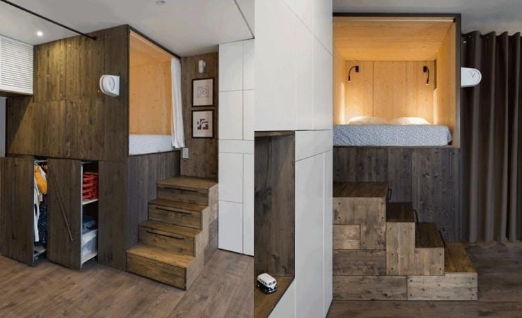 design Flat 35 Meter Persegi oleh Studio Bazi