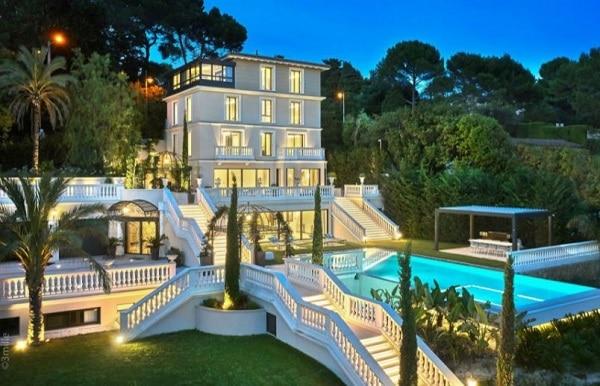 contoh design rumah mewah