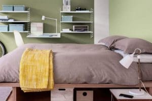 14+ Ide Warna Cat Kamar Tidur yang Sejuk, Kamar Sempit
