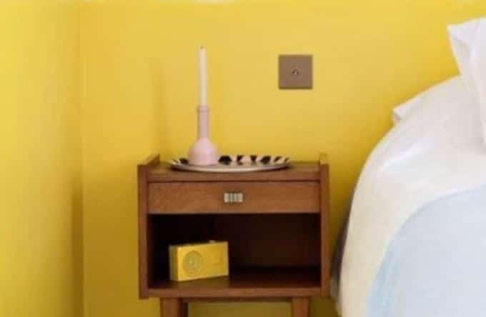 warna kamar tidur kombinasi