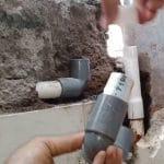 cara deteksi kebocoran pipa air