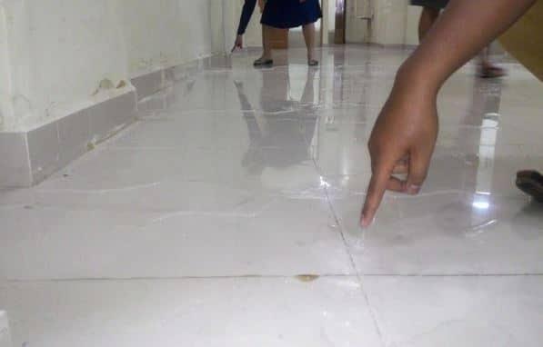 deteksi kebocoran pipa air di lantai
